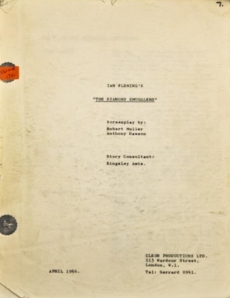 DIAMOND SMUGGLERS 66 SOLD SCRIPT